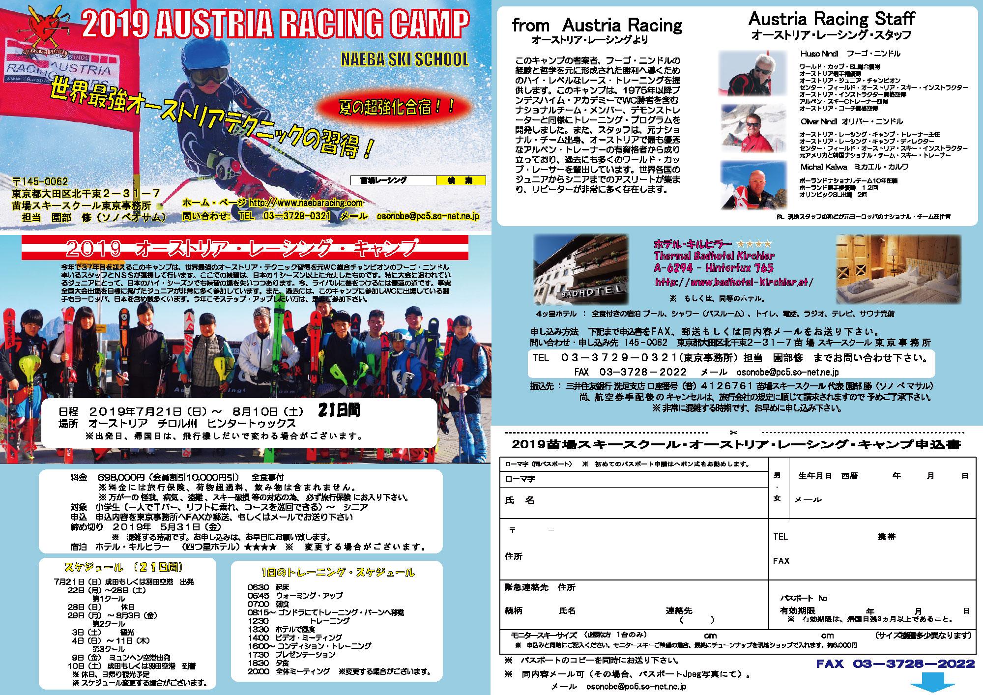 2018オーストリア・レーシング・キャンプ1